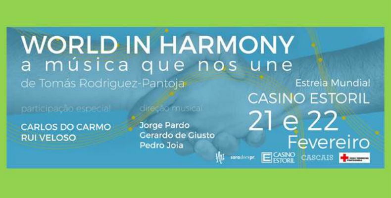 """World in Harmony"" no Casino Estoril em solidariedade com a Cruz Vermelha"